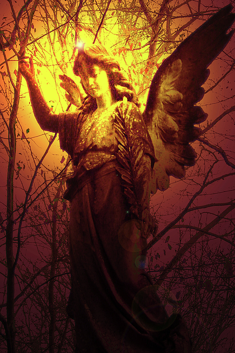 Angel Of Bless No. 03 Print by Ramon Labusch