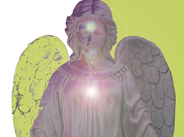 Angel Of Devotion No. 09 Print by Ramon Labusch