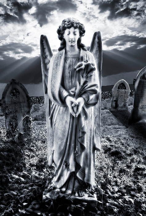 Angelic Light Print by Meirion Matthias