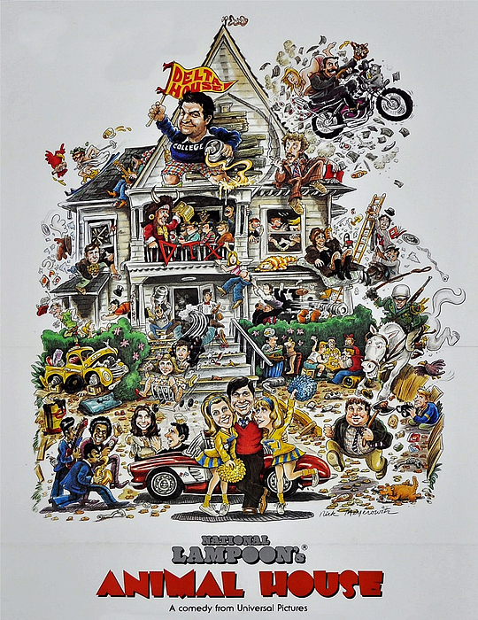 Animal House Print by Movie Poster Prints