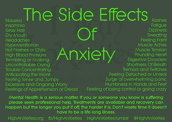 VIVA Anderson - Anxiety Side Effects