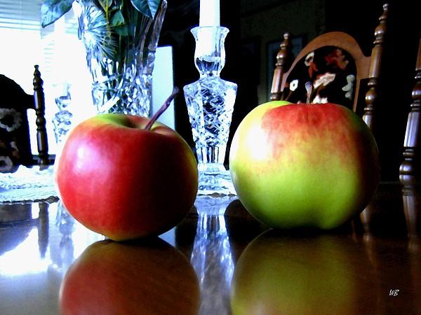 Apples Still Life Print by Will Borden