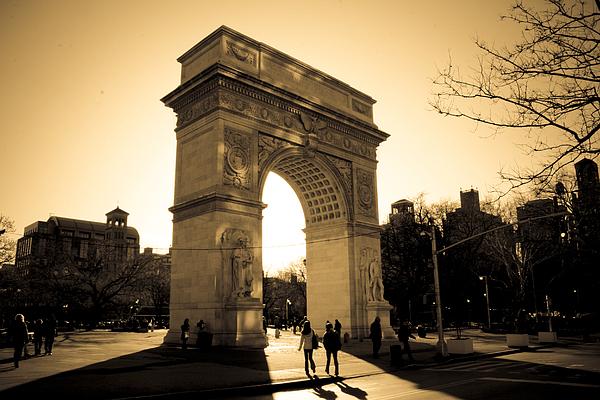 Arch Of Washington Print by Joshua Francia