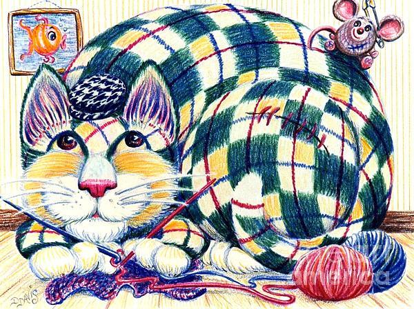 Argyle Print by Dee Davis