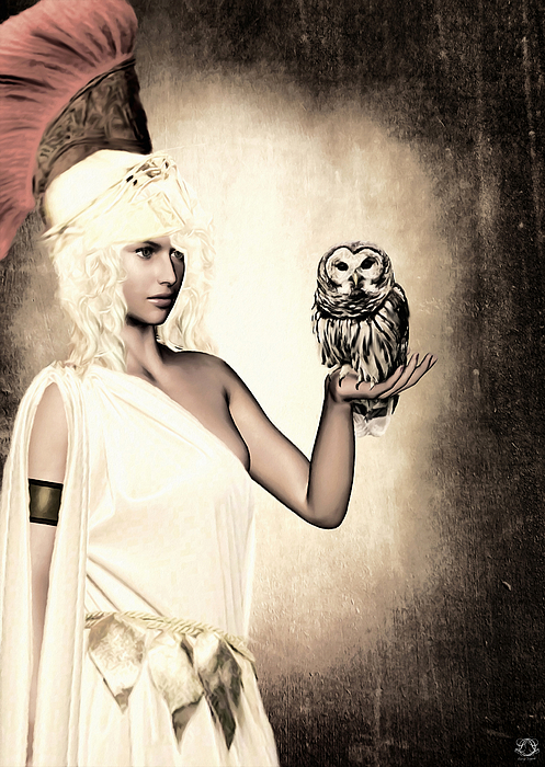 Athena Print by Lourry Legarde