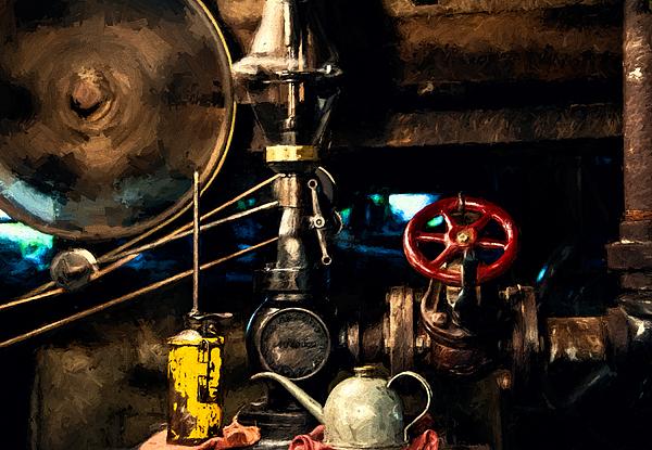John K Woodruff - Atlas Steam Engine