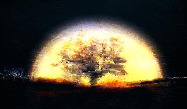 Aura Tree Print by Andrea Barbieri