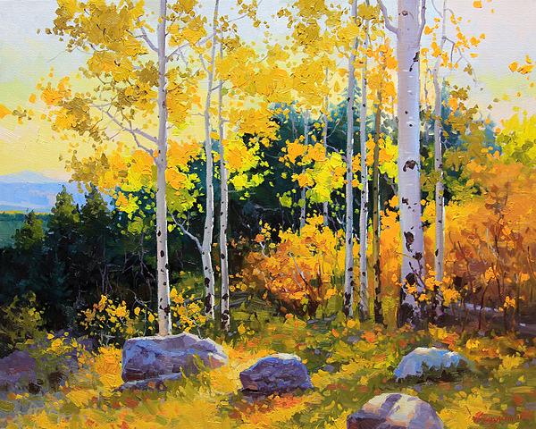 Autumn Beauty Of Sangre De Cristo Mountain Print by Gary Kim