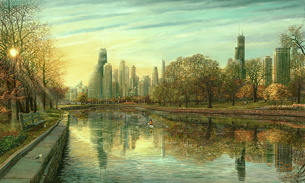 Autumn Serenity Print by Doug Kreuger