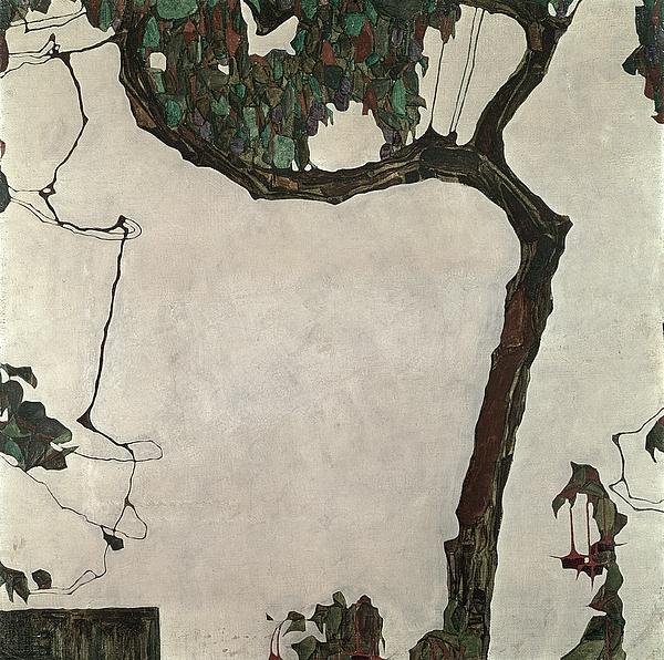 Autumn Tree Print by Egon Schiele