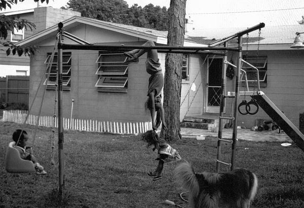 Backyard Swing Set..... Print by WaLdEmAr BoRrErO