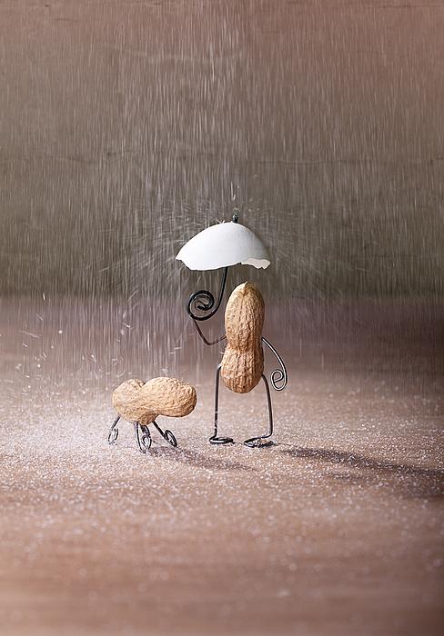 Bad Weather 02 Print by Nailia Schwarz