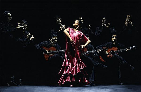 Bailarina Orgullosa Del Flamenco Print by Richard Young