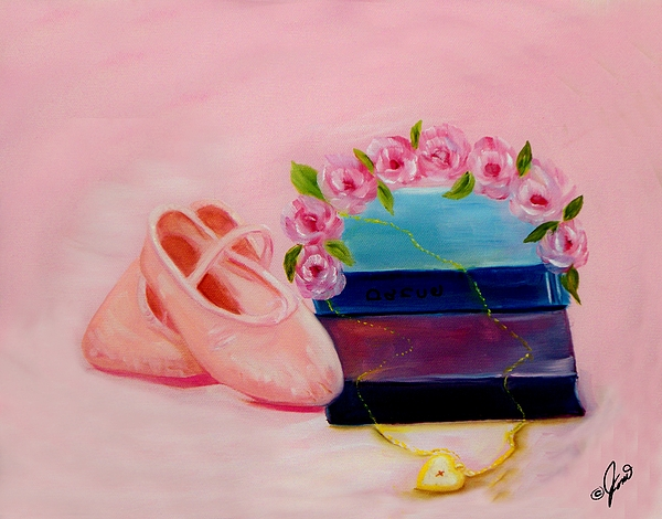 Ballet Still Life Print by Joni M McPherson