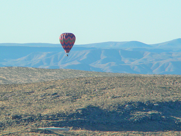 Kevin Mcenerney  - Balloon over St George U T
