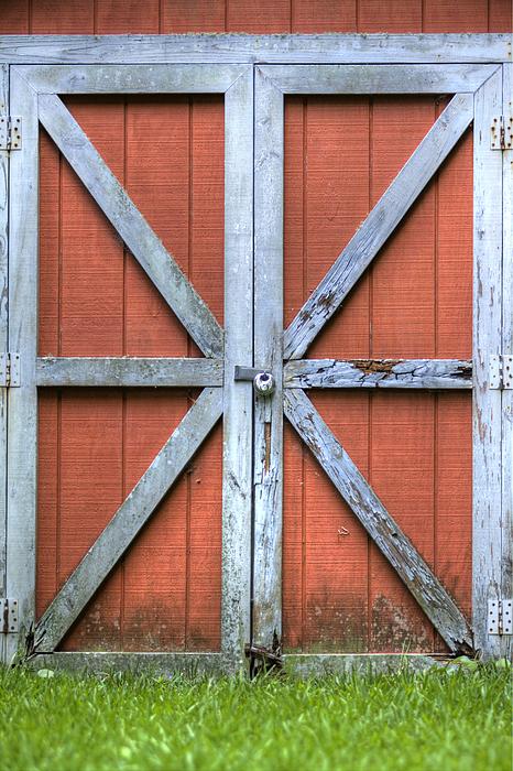 Barn Door 3 Print by Dustin K Ryan