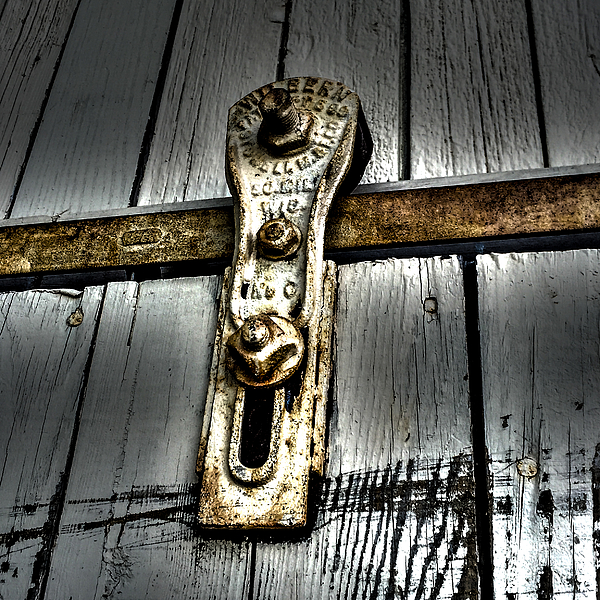 Barn Door Pulley Onesie for Sale by William Norton