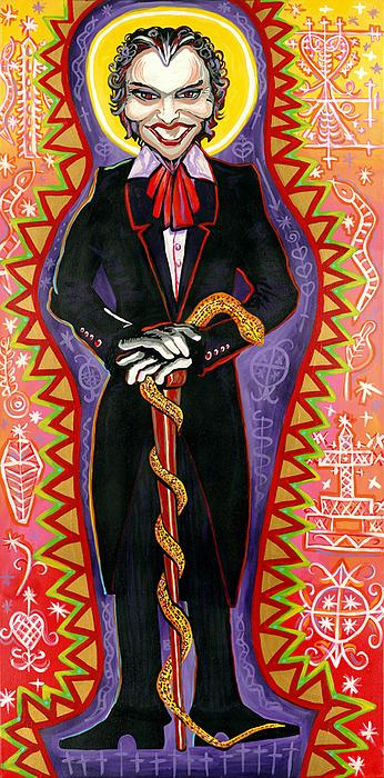 Baron Samedi Print by Mardi Claw