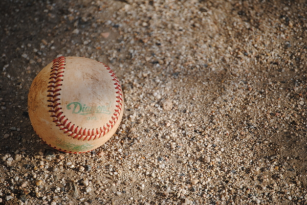 Baseball Print by Bransen Devey