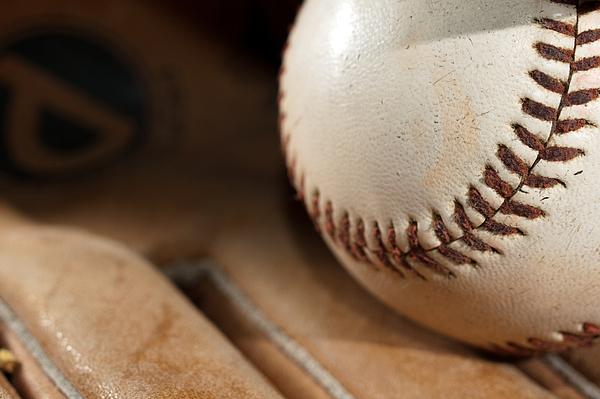 Baseball Print by Felix M Cobos