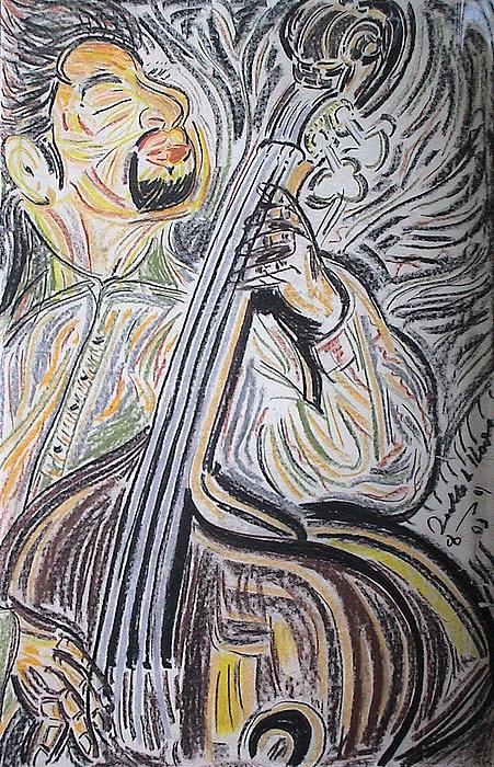 Bassman Print by Diallo House