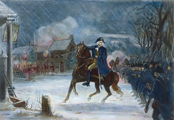 Battle Of Trenton, 1776 Print by Granger
