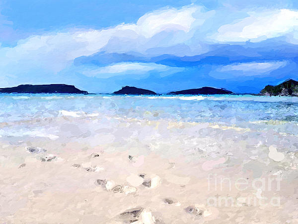 Anthony Fishburne - Beach walk