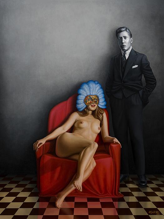 Beauty Of The Carnival Print by Horacio Cardozo