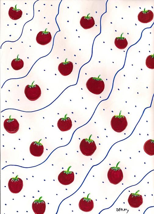 Denise Davis - Bed of Apples