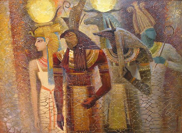 Valentina Kondrashova - Beginnings. Gods of Ancient Egypt