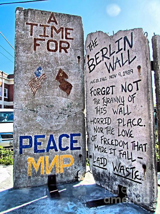 Elizabeth Dow - Berlin Wall in Portland Maine