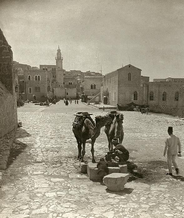 Bethlehem: Street, C1911 Print by Granger