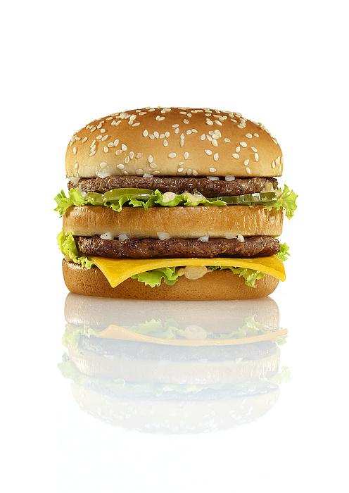 Big Mac Print by Geoff George