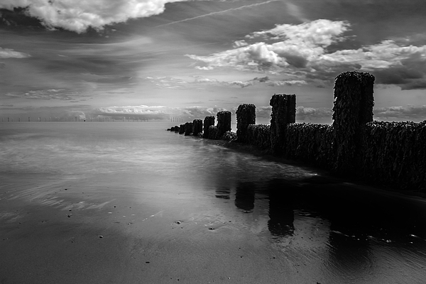 Martin Newman - Black and White Seascape