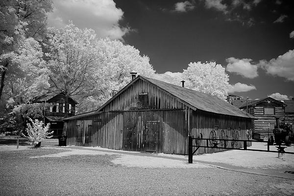 Blacksmith Barn Print by Paul Bartoszek