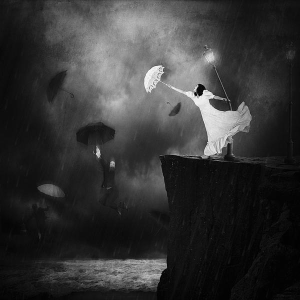 Blowin' In The Wind Print by Erik Brede