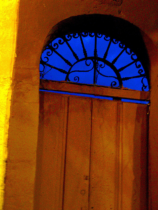 Blue Twilight By Michael Fitzpatrick Print by Olden Mexico