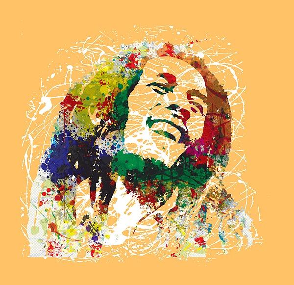 Bob Marley Print by Gary Grayson