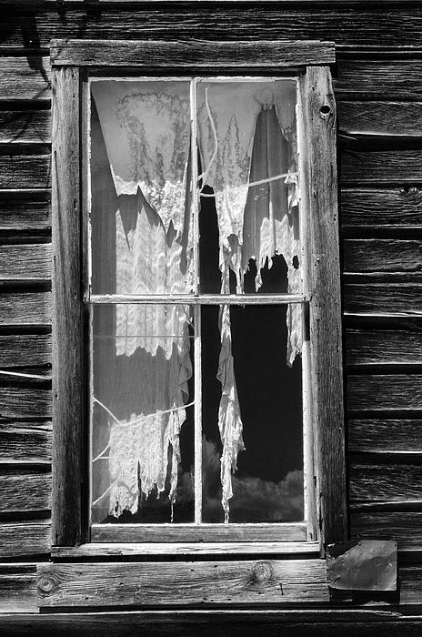 Bodie Ghost Town Print by Sandra Bronstein