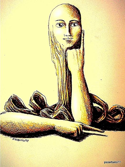 Body Language Print by Paulo Zerbato