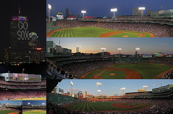 Boston Fenway Park And Red Sox Gift Ideas Print by Juergen Roth