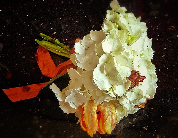 Bouquet Print by Olivier Calas