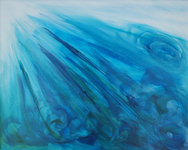 Breath Of God Print by Deborah Brown Maher