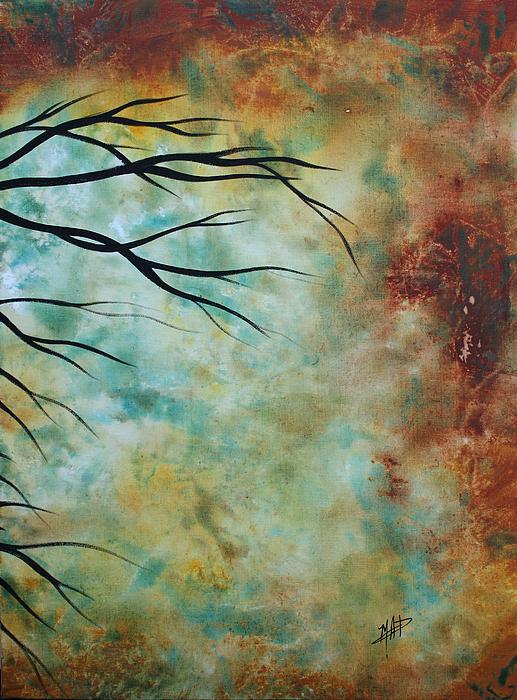 Breathless 3 By Madart Print by Megan Duncanson