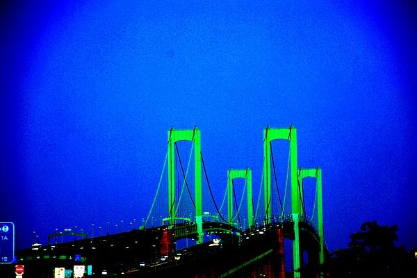 Bridges 2x2010b Print by Fareeha Khawaja