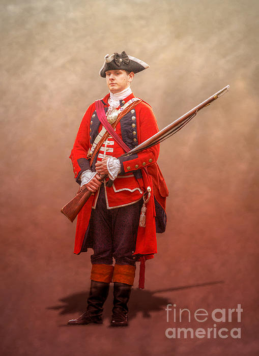 British Royal Americans Officer By Randy Steele