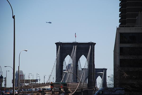 Brooklyn Bridge Print by Rob Hans