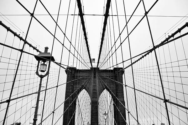 Brooklyn Bridge Print by Thank you for choosing my work.