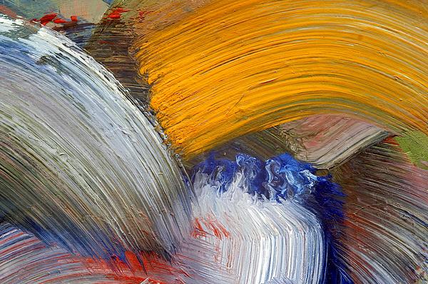 Brush Strokes Print by Michal Boubin