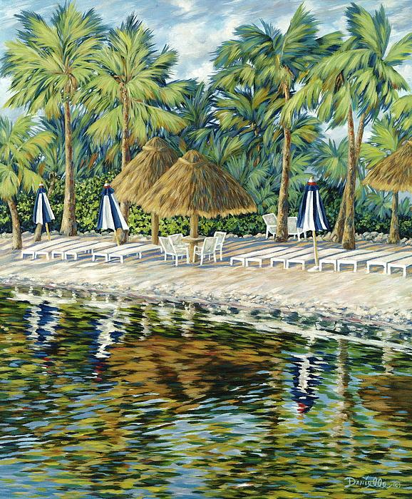 Buccaneer Island Print by Danielle  Perry